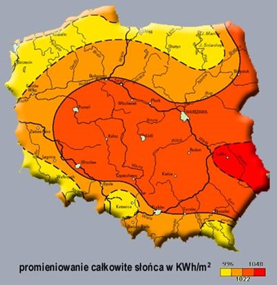 BeGolden - mapa Polski